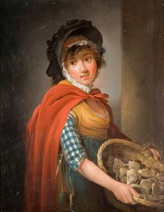 The Oyster Girl, Edward Bird(1772-1819)