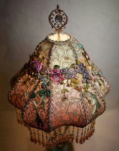 Old brocante lamp