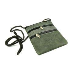 Kožené pouzdro na krk na doklady se šňůrkou - peněženky AHAL Unisex, Fashion, Woods, Moda, Fashion Styles, Fashion Illustrations, Fashion Models