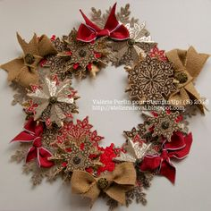 Christmas Wreath  Stampin' Up!