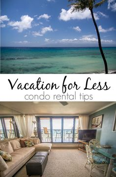 Vacation for less by renting a condo!  Enjoy a more comfortable vacation for less than a hotel room! Maui Travel, Maui Vacation, Hawaii Honeymoon, Need A Vacation, Maui Hawaii, Vacation Places, Dream Vacations, Vacation Destinations, Vacation Spots