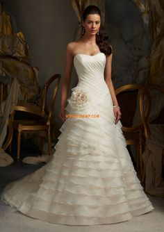 Jaro 2013 Přesýpací hodiny Zip Svatební šaty 2014