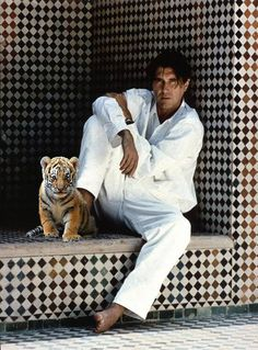 Bryan Ferry with Baby Animals