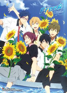 Free! 2 Premium Wall Scroll - Boys Sunflower @Archonia_US