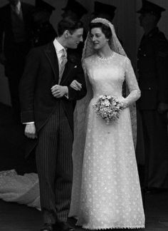 The Wedding Of HRH Princess Alexandra To Mr Angus Ogilvy In 1963
