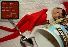 Topher Takes the Blame: @binkiesandbrief's Elf has a sugar high on @ElfShaming