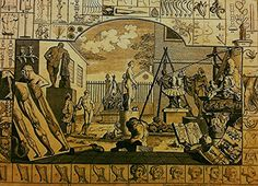 "https://flic.kr/p/CirK4a | Luigi Speranza -- THE ALLURE OF ANCIENT ROME -- G. Hogarth, ""La bellezza"" -- etching, 15 x 19"" -- Collezione di N. Bradish."