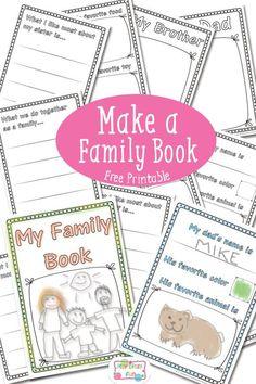 Make a Family Book Free Printable (scheduled via http://www.tailwindapp.com?utm_source=pinterest&utm_medium=twpin&utm_content=post56568616&utm_campaign=scheduler_attribution)