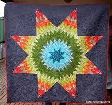 Image result for lone star quilt pattern