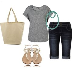 summer outfit , cute and modest shorts find more women fashion ideas...!