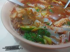 Mee Celup Golok, Ketereh, Kelantan Sedap Tersangat