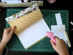 Handmade Journal Process (not really a tutorial, but you get a clear idea of how she puts it together)