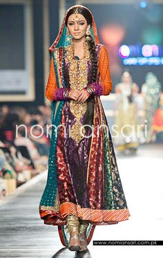 Colorful Nomi Ansari, perfect for Mendhi Night!