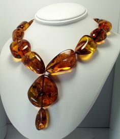 Pretty Amber Necklace