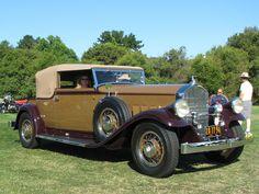 1931 Pierce-Arrow LeBaron convertible