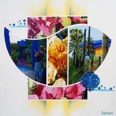 Les jardins de Majorelle Gabarit Focus d'Easy Scrap