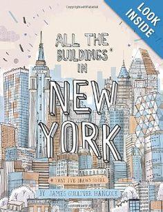 All the Buildings in New York: That I've Drawn So Far: James Gulliver Hancock: 9780789324672: Amazon.com: Books