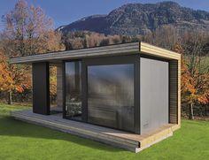 Jacuzzi, Sauna House, Tiny House Cabin, Modern Saunas, Terrazas Chill Out, Outdoor Garden Rooms, Sauna Heater, Outdoor Sauna, Sauna Design
