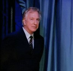 I think this is Alan making his entrance onto the Jimmy Fallon show