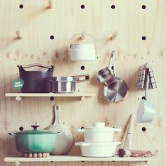DIY Idea: Make a Large-Scale Pegboard Organization Wall