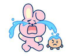 universtar line sticker coreen Bts Bangtan Boy, Bts Jimin, Frases Bts, Les Bts, Cosplay Anime, K Pop, Line Friends, Fan Art, Bts Chibi