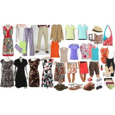 """Cruise Packing"" by nonnymango on Polyvore"