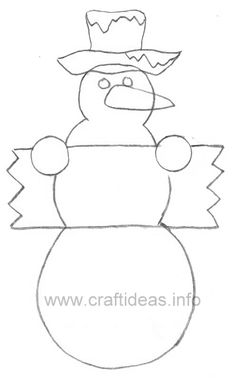 Printable+Snowman+Patterns | for snowman wooden snowman and tree if you like woodworking this ...