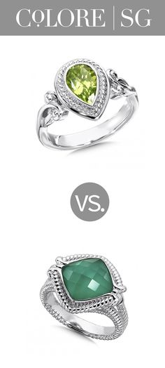 afa1063dab5 Which shade of green do you prefer  Bright peridot or bold agate  http