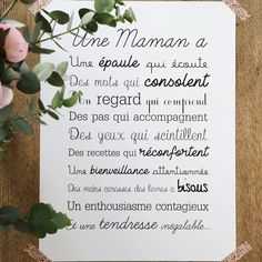 Image of Affiche Exclusive Une Maman