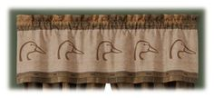 Ducks Unlimited Plaid Collection Valance