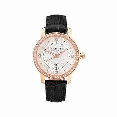 Mayfair Black Crystal Watch from Links of London | Watches for Women