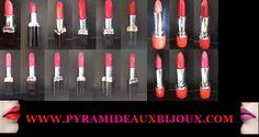 Rouge à lèvres longue tenue en vente ici http://www.pyramideauxbijoux.com/maquillage/gloss-et-rouge-a-levres/