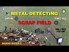 I have a feeling you'll like this one 😍 METAL DETECTING MAKRO RACER 2 ON THE SCRAP FIELD #184... https://youtube.com/watch?v=OVGHQ6BKO2I