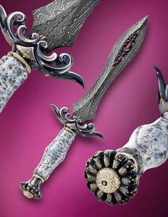 """The Custom Knifemaking & Knife Engraving of Julie Warenski-Erickson"""