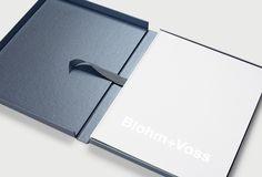 Blohm+Voss brand identity by Inaria. Luxury superyacht brand design and art direction.