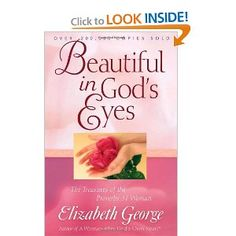 One of my absolute favorite books. Covers the scripture of the Proverbs 31 woman and how God sees us and wants us to live our lives. I refer to it quite often!