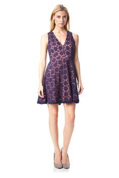 Elana Crochet Dress