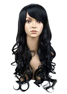 BRONWYN is her name --   Cool, Black and Beautiful Wig. $32.00, via Etsy.