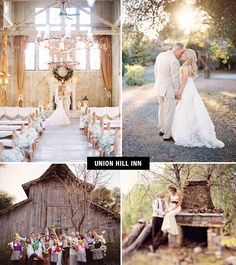 Union Hill Inn Wedding | Coolest Wedding Venues in the US