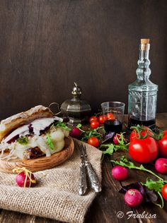 La cocina de Frabisa: Bocadillo gallego