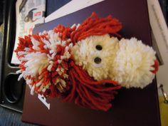 Yarn dog I made