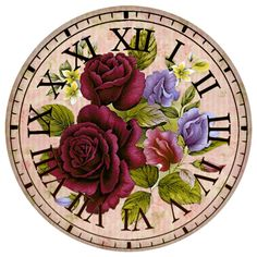 GOANG Rhinestone painting crystal Home Decor Diamond painting cross stitch pattern diamond embroidery Flower Clock decoration Indian Art Paintings, Cross Paintings, Disney Clock, Clock Template, Crystals In The Home, Mosaic Pictures, Mosaic Crafts, 5d Diamond Painting, Decoupage Paper