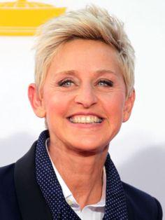 Hot celebrity hairstyles for every hair type: Ellen DeGeneres