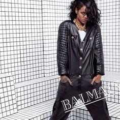 Rihanna pour Balmain 4