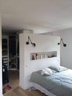 16 meilleures images du tableau Tête de lit placo   Tête de lit placo, Amenagement chambre et ...