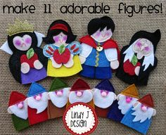 Fairy Tale MATCHBOX Cottage 5 SNOW WHITE by LindyJDesign on Etsy