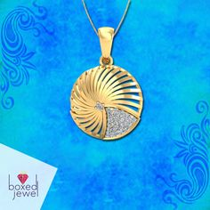 Ecumenical #Gold Arced #Pendant For The Class Apart Get It Here - http://ow.ly/AfYH3045d5h