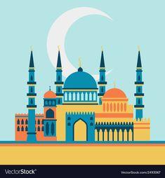 Islamic Tiles, Islamic Art, Wallpaper Ramadhan, Mosque Vector, Mosque Silhouette, Book Background, Instagram Background, Arabic Art, Anime Best Friends