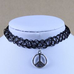 16 Summer Styles 2015 New Vintage Stretch Tattoo Choker Necklace Punk Grunge Henna Elastic with Pendant Necklaces Free Shipping