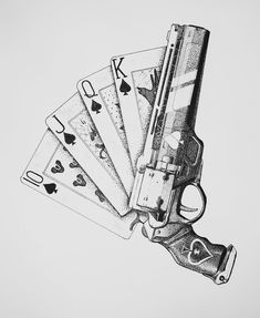 Ace of Spades Destiny 2 hand cannon gun Destiny Bungie, Destiny Cayde 6, Destiny Hunter, Destiny Hand Cannon, Cool Art Drawings, Pencil Art Drawings, Art Drawings Sketches, Ace Of Spades Tattoo, Destiny Tattoo